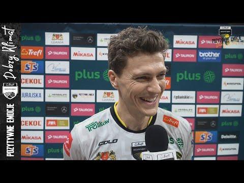 Read more about the article Mariusz Wlazły i Lukas Kampa po wygranej 3:0 z Cuprum Lubin | Trefl Gdańsk