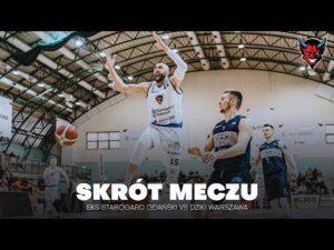 Read more about the article SKRÓT MECZU | SKS STAROGARD GDAŃSKI VS DZIKI WARSZAWA