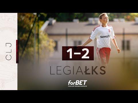 Read more about the article CLJ U15:  Legia Warszawa – ŁKS Łódź 1:2   SKRÓT MECZU