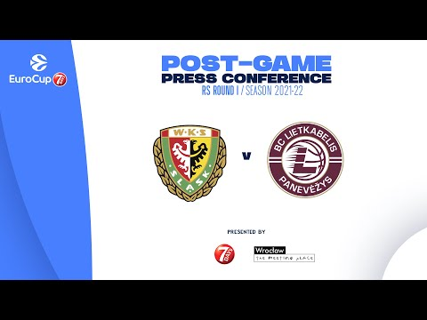 Read more about the article Post-game press conference | EuroCup 21-22 RS Round I | Slask Wroclaw – Lietkabelis Panevezys