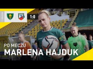 Read more about the article Marlena Hajduk po meczu GKS Katowice – Tarnovia Tarnów 1:0 (02.10.2021)
