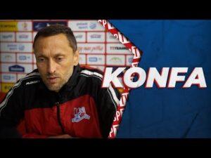 Read more about the article Trener Piotr Jawny po meczu ze Stomilem Olsztyn