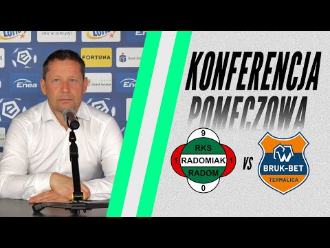 You are currently viewing Konferencja prasowa po meczu Radomiak Radom – Bruk-Bet Termalica Nieciecza 1:1 [RADOMIAK.TV]