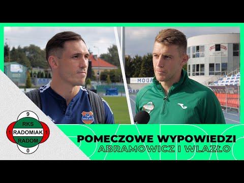 You are currently viewing Dawid Abramowicz i Piotr Wlazło po meczu Radomiak – Bruk-Bet Termalica [RADOMIAK.TV]