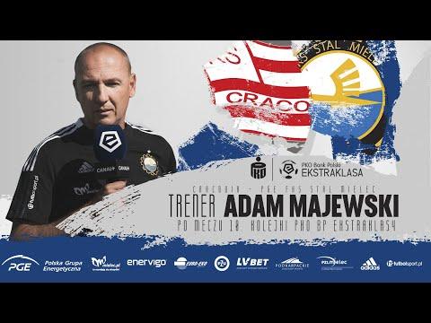 You are currently viewing TV Stal: Trener Adam Majewski po meczu z Cracovią