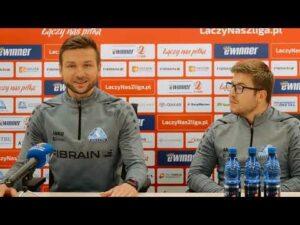 Read more about the article Konferencja po meczu Stal Rzeszów – Pogoń Siedlce (23.10.2021)