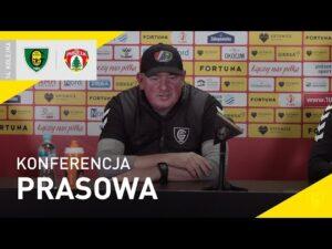 Read more about the article Konferencja prasowa po meczu GKS Katowice – Puszcza Niepołomice 1:0 (23.10.2021)