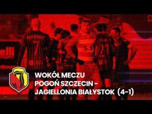 Read more about the article [Wokół meczu] Pogoń Szczecin – Jagiellonia Białystok (4:1)