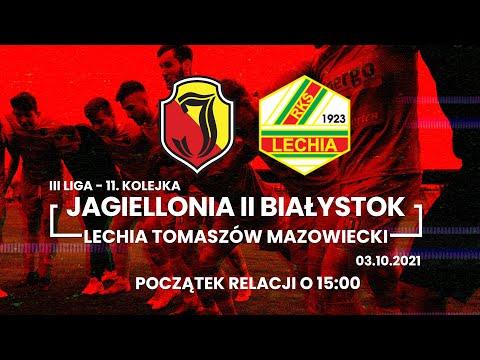 You are currently viewing [LIVE] III liga. Jagiellonia II Białystok – Lechia Tomaszów Mazowiecki