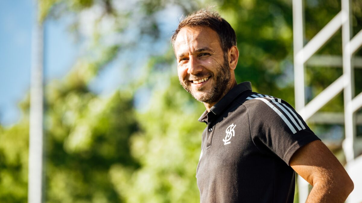 """You are currently viewing Marcin Matysiak z UEFA Elite Youth. """"Fajnie, że zaszczepiliśmy im wiarę""""."""